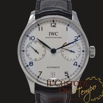 IWC Portuguese Automatic Staal 42.3mm Zilver Arabisch
