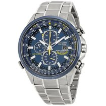 Citizen Promaster Sky Steel 43mm Blue No numerals United States of America, New York, Bellmore