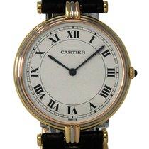 Cartier Trinity Zuto zlato 30mm Bjel