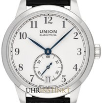 Union Glashütte 1893 Small Second Otel 34,00mm Alb
