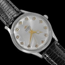 Gruen 35mm Manual winding 1960 pre-owned Silver