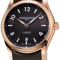 Frederique Constant Runabout Automatic Gold/Steel 46.3mm Brown United States of America, New York, Brooklyn