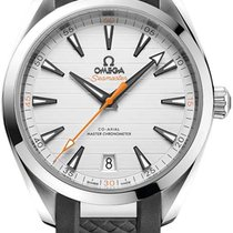 Omega Steel Automatic Silver 41mm new Seamaster Aqua Terra