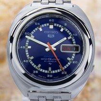 Seiko Vintage Rare Big Sports Day Date 7019-7050 Automatic...
