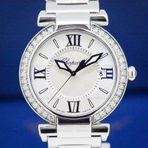 Chopard 388532-3004 Imperiale quartz SS 36 MM Diamond Bezel...