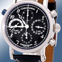 "Chronoswiss ""Tora Dual-Time"" Chronograph Strapwatch."