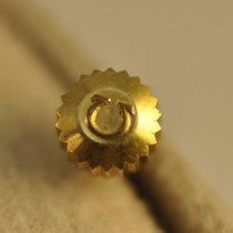 Omega Crown 4.5mm X 2.7mm Seamaster Dynamic Cosmic Gold Plated...