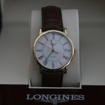 Longines Solid 18kt  Gold L4.778.6 Serviced and Cleaned New...