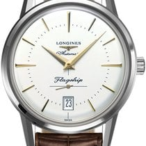 Longines Flagship Heritage Steel 38.5mm Silver United States of America, New York, Airmont