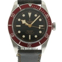 Tudor Heritage Black Bay Red 79220R Watch with Leather...