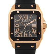 Cartier Santos 100 neu Automatik Uhr mit Original-Box und Original-Papieren W20124U2