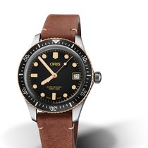 Oris Divers Sixty Five 01 733 7747 4354-07 5 17 45 Oris DIVING SIXTY-FIVE Pelle new
