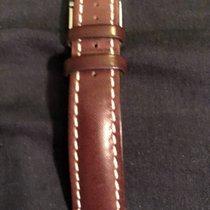 Breitling Dark brown leather 22-20
