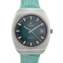 Zodiac Automatic Stainless Steel Mens Watch