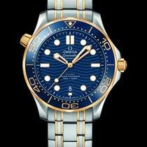 Omega 210.20.42.20.03.001 Or/Acier 2020 Seamaster Diver 300 M 42mm nouveau