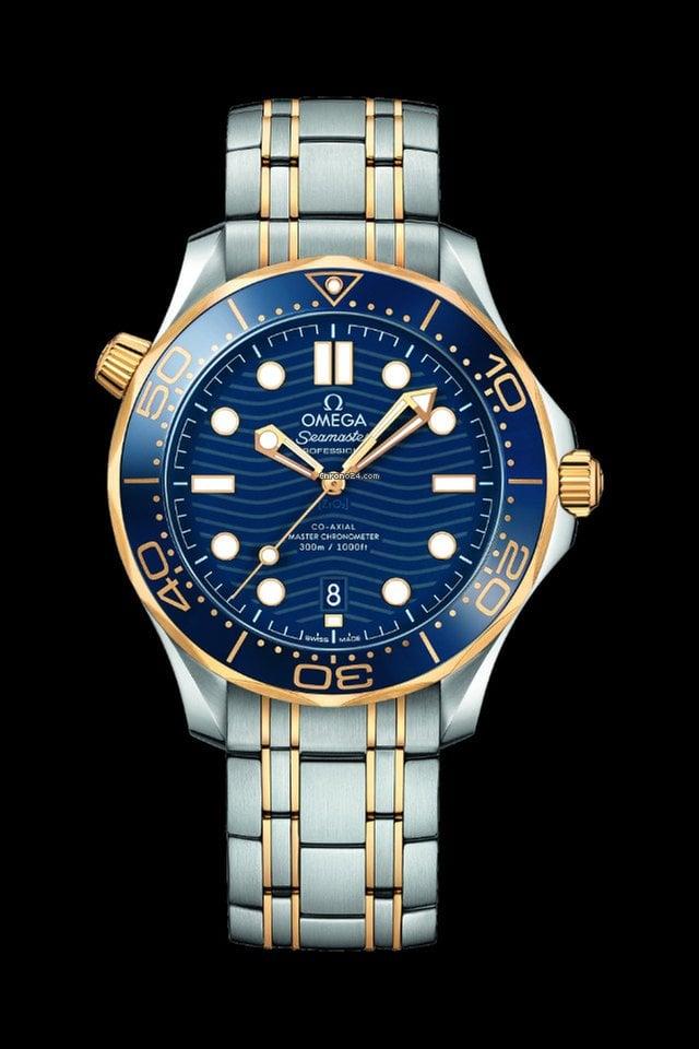 Omega Seamaster Diver 300 M 210.20.42.20.03.001 2021 neu