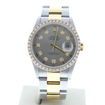Rolex 16203 Silver Datejust (Submodel) 36mm