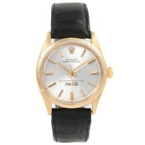 Rolex Oyster Perpetual 34 Yellow gold 34mm Silver United States of America, Georgia, Atlanta