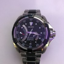 Seiko Velatura Kinetic Direct Drive tweedehands 43.5mm Staal