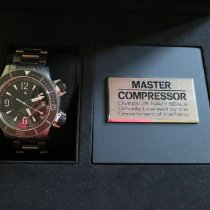 Jaeger-LeCoultre Master Compressor Diving Alarm Navy SEALs Titanium 44mm Black Arabic numerals
