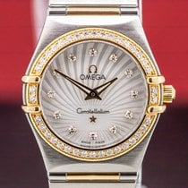 Omega Constellation Quartz Gold/Steel Mother of pearl
