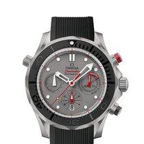 Omega Titanium Automatic Grey No numerals 44mm new Seamaster Diver 300 M