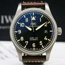 IWC pre-owned Automatic 40mm Black Sapphire Glass 6 ATM