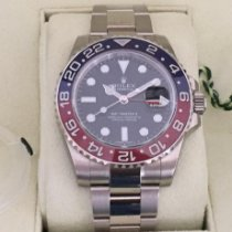 Rolex GMT-Master II neu 2016 Automatik Uhr mit Original-Box und Original-Papieren 116719BLRO