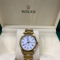 Rolex Oyster Perpetual Yellow gold 34mm Gold