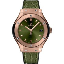 Hublot Classic Fusion Quartz Rose gold 33mm Green No numerals United Kingdom, London