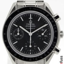 Omega Zeljezo Automatika Crn 39mm rabljen Speedmaster Reduced