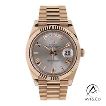 Rolex Day-Date 40 Rose gold 40mm Pink Roman numerals United States of America, New York, New York