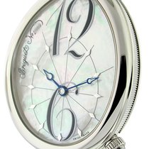 Breguet Reine de Naples Steel 36mm Mother of pearl United States of America, New York, New York