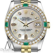 Rolex Lady-Datejust Gold/Steel 31mm Mother of pearl United States of America, New York, New York