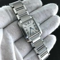 Cartier Tank Small Quartz W51008q3 Stainless Steel - Watch Only