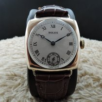 Rolex 9K Pink Gold Cushion Case with Guilloche Dial