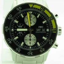 IWC Aquatimer Iw376701 Diver Chronograph Day & Date Steel New...