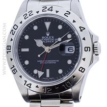 Rolex stainless steel Explorer II