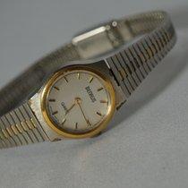 Benrus Vintage w/ Gold/Steel Band/Bezel