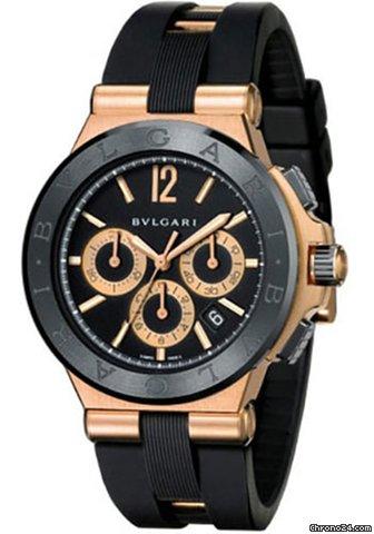 b938f6a98eb Bulgari Diagono Rose gold - all prices for Bulgari Diagono Rose gold watches  on Chrono24