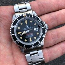 """Rolex 1680 Submariner Red MK VII / Mark 7 """"Tritium Service Dial"""""""