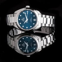 Omega Seamaster Aqua Terra Steel 34mm Blue United States of America, California, San Mateo