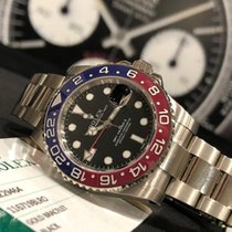 Rolex GMT-Master II White gold 40mm Black No numerals