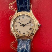 Cartier Cougar usados 26mm Fecha Cuero